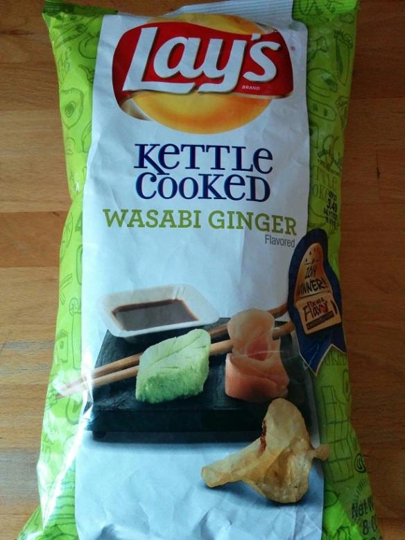 Du Bon Manger- Chips wasabi ginger