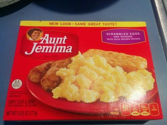 Du bon manger - Dejeuner aunt jemima 1