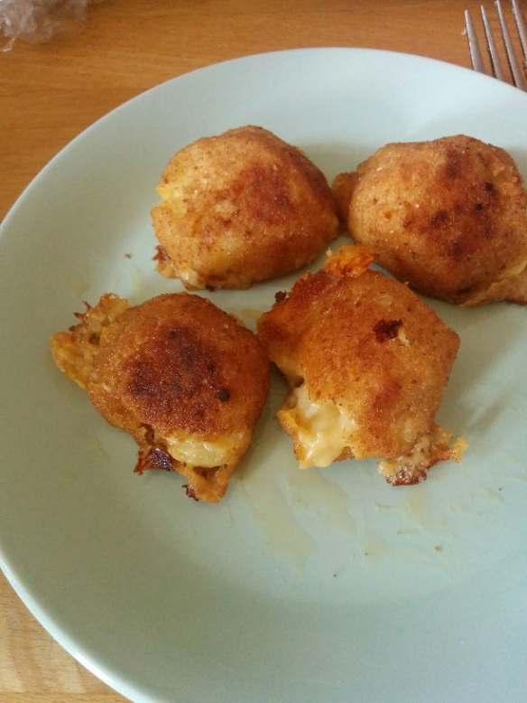 Du Bon Manger - Trader Joes mac and cheese bites 3