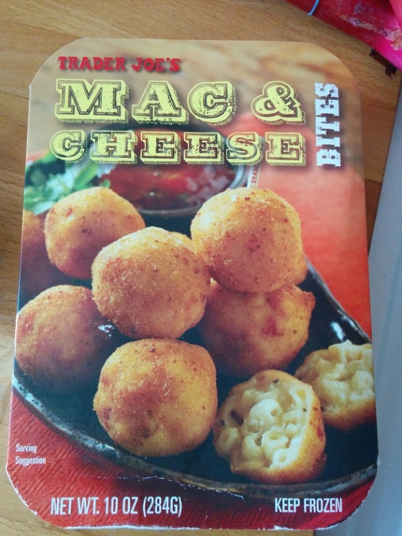 Du Bon Manger - Trader Joes mac and cheese bites