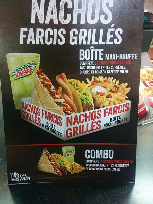 Du Bon Manger - Nachos farcis grillés taco bell 1