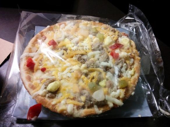 Du Bon Manger - Red Baron Pizza Dejeuner 2
