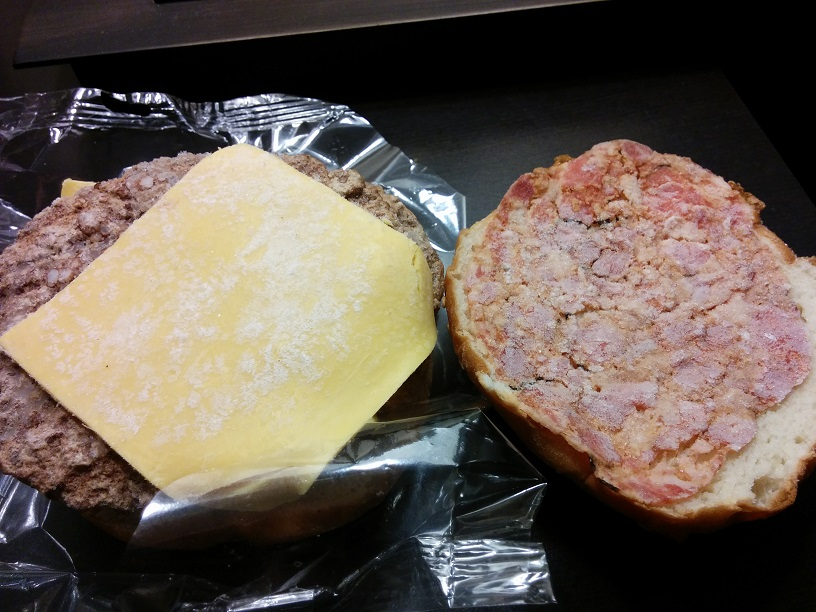Du Bon Manger - Sams Choice Bacon SteakBurger with cheese 3