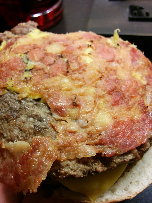 Du Bon Manger - Sams Choice Bacon SteakBurger with cheese 8