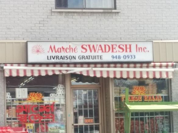 Du Bon Manger - Marché Swadesh