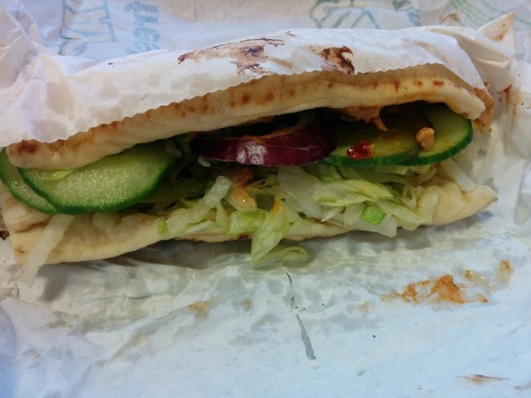 Du Bon Manger - subway poulet au beurre 1