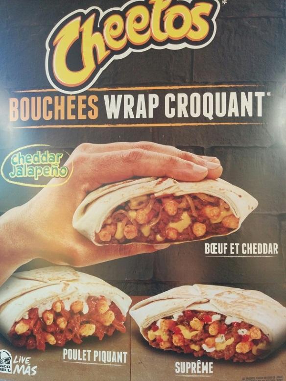 Du Bon Manger - Taco Bell Bouchées Wrap Croquant Cheetos 1