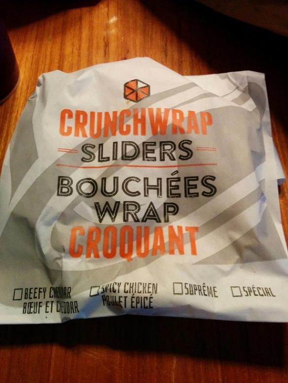 Du Bon Manger - Taco Bell Bouchées Wrap Croquant Cheetos 2