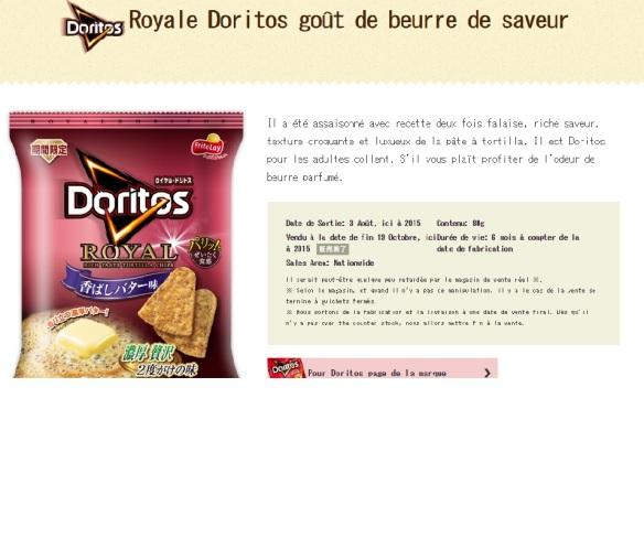 DES DORITOS AU BEURRE!?!?!?!?!