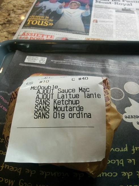 Du Bon Manger - burgers création sur mesure mcd mcdonalds 1