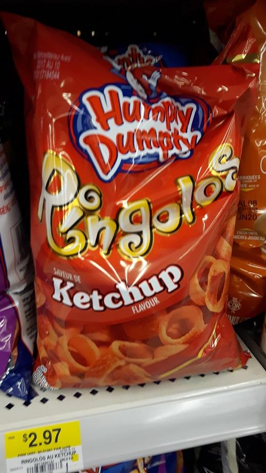 Du Bon Manger - Ringolos au ketchup