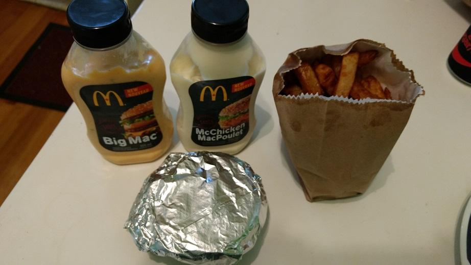 Du Bon Manger - Sauce Mcdo Macpoulet Big Mac et filet de poisson 3