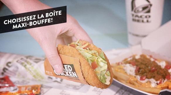 Du Bon Manger - Taco Bell Poulet exposé